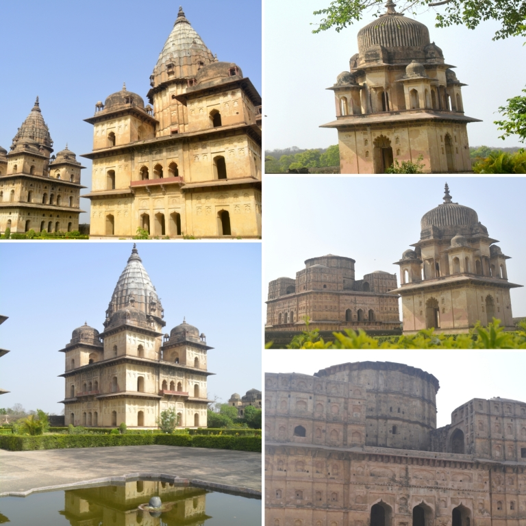 Group of Cenotaphs! Orchha