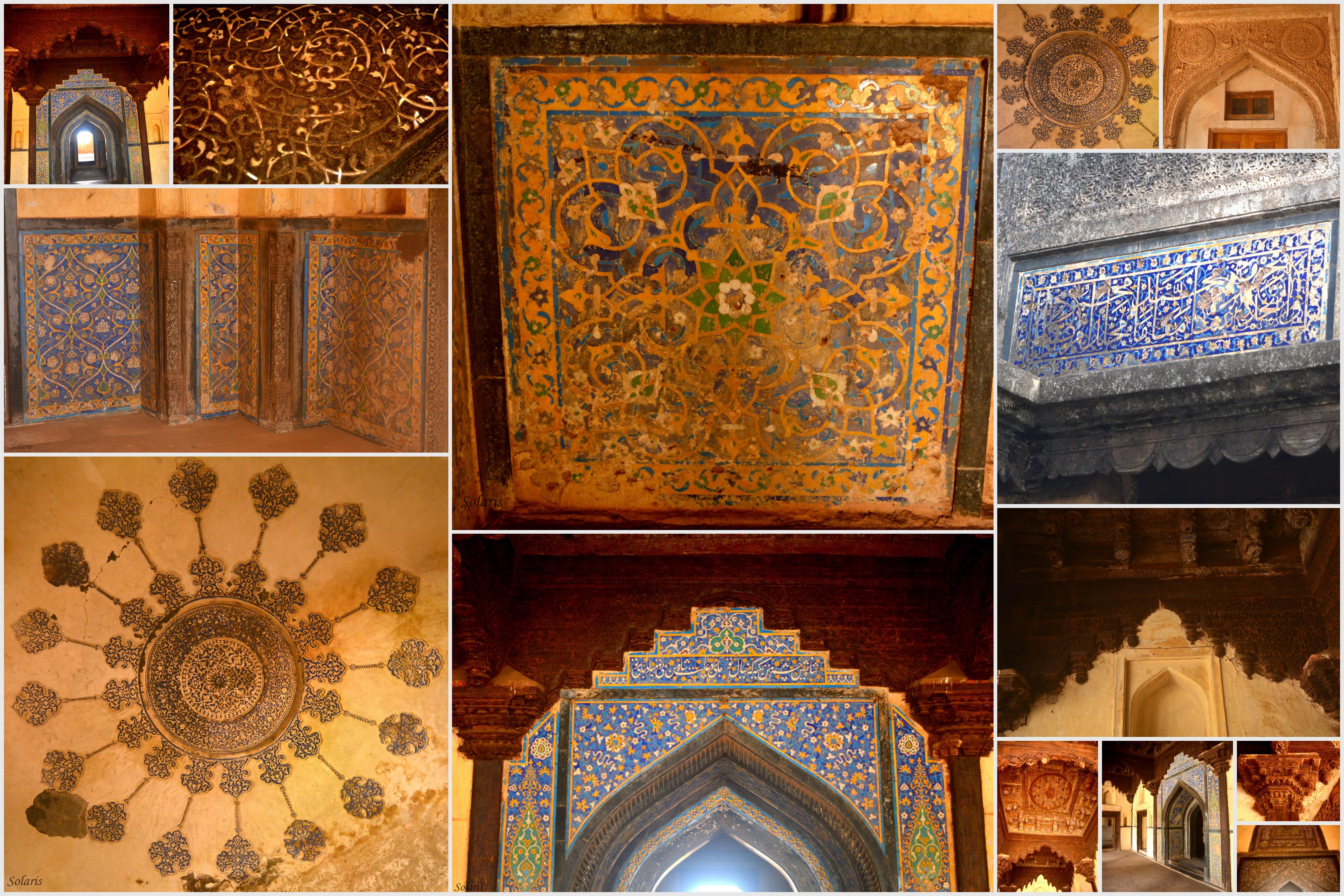 Rangin Mahal, Bidar Fort