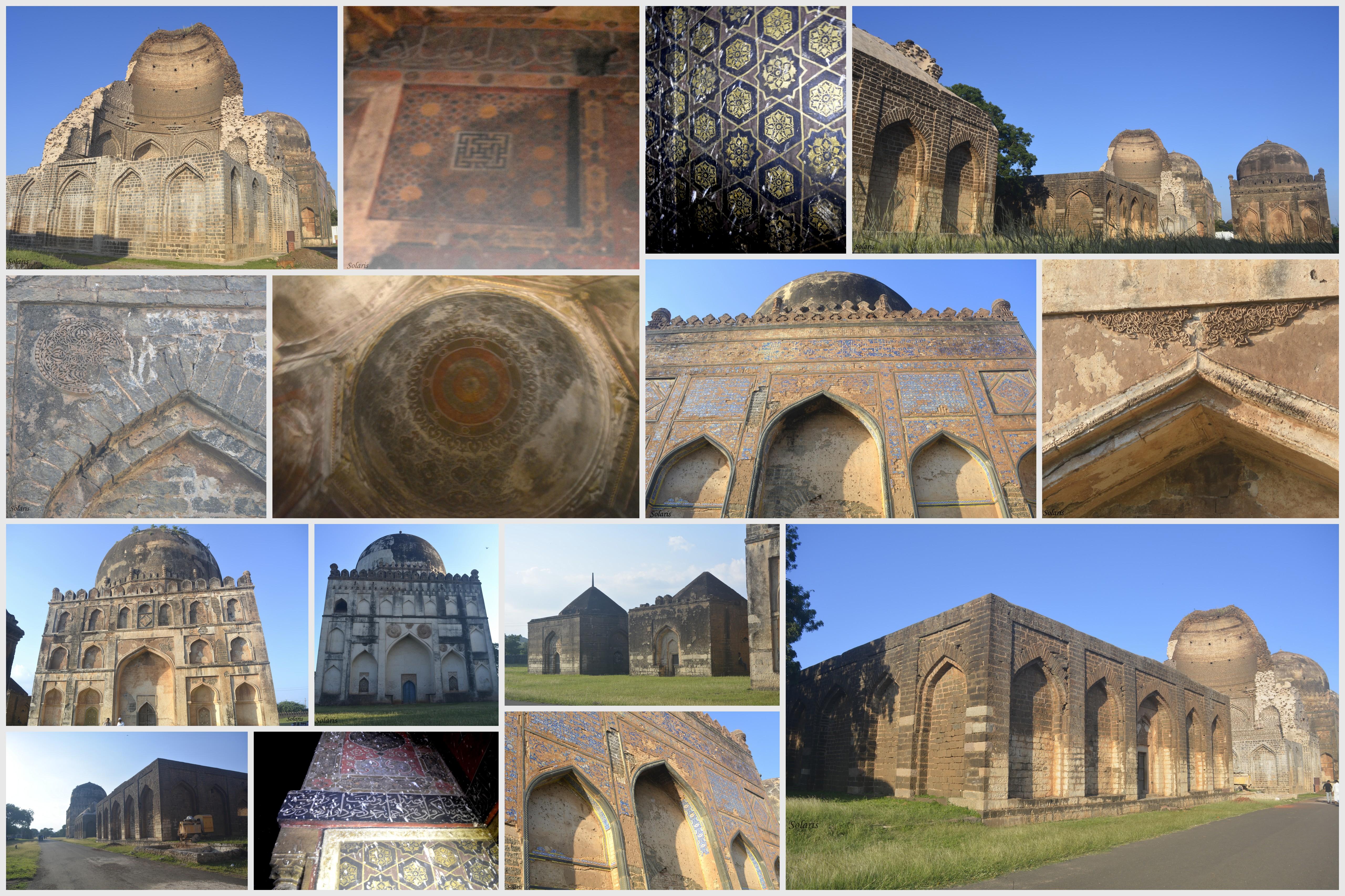 Bahmani Tombs, Bidar