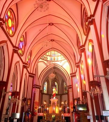 Interior of Basilica Church