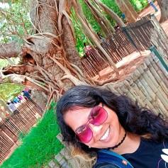 Selfie at Banyan Tree